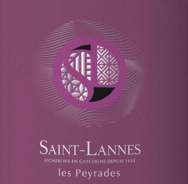 Les Peyrades Rouge Côtes de Gascogne IGP 2018 - Domaine Saint-Lannes von Domaine Saint-Lannes