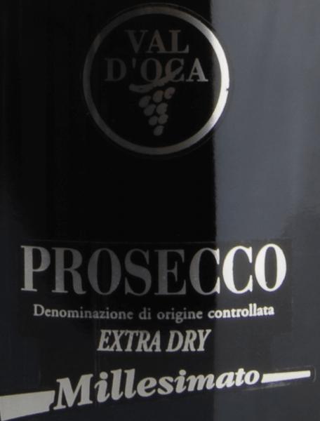 Prosecco Millesimato Extra Dry DOC - Val D'Oca von Val D'Oca