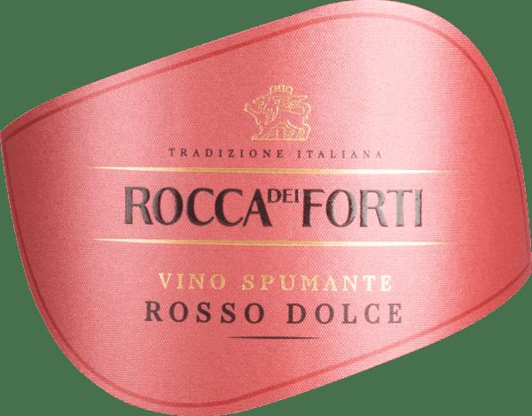 Spumante Rosso Dolce - Rocca dei Forti von Rocca dei Forti