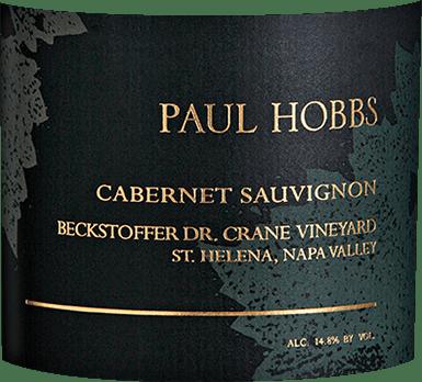 Cabernet Sauvignon Beckstoffer Dr. Crane Napa Valley 2015 - Paul Hobbs von Paul Hobbs Winery