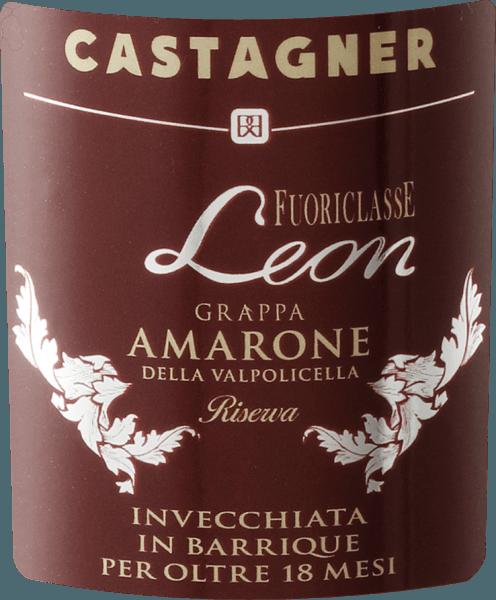Fuoriclasse Leon Grappa Amarone della Valpolicella Riserva 0,1 l - Castagner von Roberto Castagner
