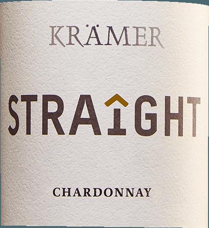 Krämer Straight Chardonnay trocken 2019 - Tobias Krämer von Tobias Krämer