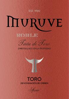 Muruve Tinto Roble Toro DO 2017 - Bodegas Frutos Villar von Frutos Villar