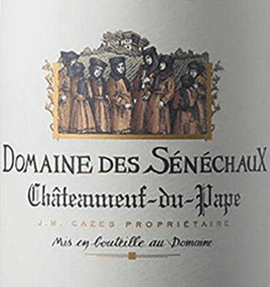 Blanc Châteauneuf-du-Pape AOC 2018 - Domaine des Sénéchaux von Domaines Cazes