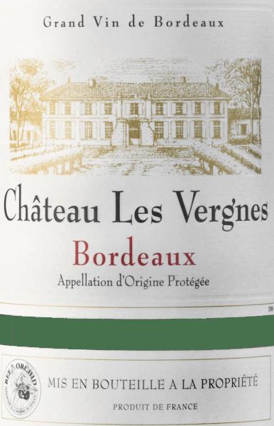 Bordeaux Rouge AOC 2016 - Château Les Vergnes von Château Les Vergnes