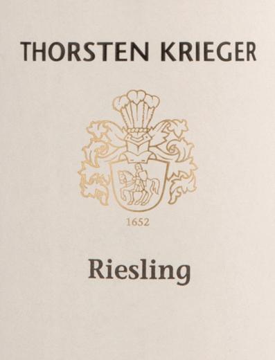 Riesling trocken 2019 - Thorsten Krieger von Weingut Thorsten Krieger