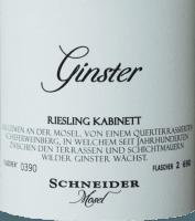 Vorschau: Ginster Riesling Kabinett 2018 - Markus Schneider