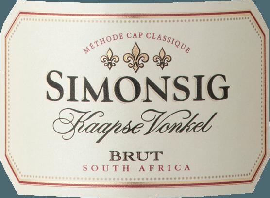 Der Kaapse Vonkel Brut Sparkling Wine von Simonsig Wine Estate ist der erste Schaumwein, der in Südafrika nach der Methode Champenoise produziert wurde. In langer Tradition hat sich ein hervorragend vielschichtiger und fruchtig edler Schaumwein entwickelt. Erbesitzt eine sanfte strohgelbe Farbe mit lebhaften, aufsteigenden Blasen, die eine feine Schaumkrone am Rand bilden. Dieser Brut ist ein südafrikaninscher Cap Classique mit einem komplexen Bouquet von zart floralen und fruchtigen Aromen von reifen gelben Äpfeln und Zitrusfrüchten. Nuancen von roten Beeren und gebackenem Apfel verleihen ihm Komplexität.Frisches, langanhaltendes und feinperliges Mousseux unterstützt den vollen Geschmack am körperreichen Gaumen und sorgt für ein mundfüllendes Gefühl, ehe er in einen anhaltend sauberen und trockenen Abgang mündet. Der Kaapse Vonkel von Simonsig ist einer unserer Bestseller aus Südafrika! Vinifikation desKaapse Vonkel Brut Sparkling Wine von Simonsig Wine Estate Handepflückt werden die Trauben der Cuvée aus Chardonnay, Pinot Noir und Pinot Meunier in Körbe transferiert. Pneumatischer Pressung folgt die Fermentation in Stahltanks bei 15 - 16 °C mit speziell ausgewählten Hefen. Der Most der Chardonnay Trauben wird in französischer Eiche vergoren und bringt die Komplexität in den Wein. Die Flaschengärung wird hier nicht als Methode Champenoise sondern als Methode Cap Classique bezeichnet. Speiseempfehlung für denKaapse Vonkel Brutvon Simonsig Wine Estate Wir empfehlen ihn zu frischen Austern, Pastete, Backhähnchen mit Honig, Ente und Desserts wie Obstkuchen, zart cremigen Kuchen oder Mandelkuchen. Auszeichnungen für denKaapse Vonkel Brut Sparkling Wine von Simonsig Wine Estate 2012 Top South African Wines - Gewinner (Jg. 2007), 2011 Platters Wine Guide - 4 Sterne (Jg. 2008, 2009, 2010, 2011, 2012), 2013 Veritas - Gold (Jg. 2010), Sommelier Wine Award - Silber (Jg. 2011)