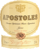 Vorschau: Apostoles Palo Cortado - Gonzalez Byass
