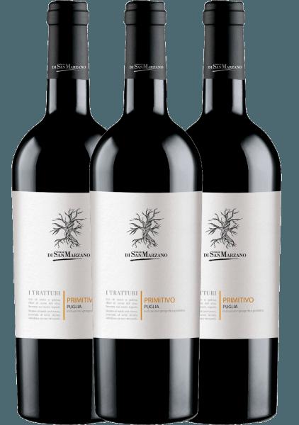 3er Vorteils-Weinpaket - I Tratturi Primitivo 2020 - Cantine San Marzano