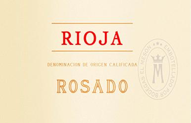 Rosado Rioja DOCa 2019 - Bodegas El Meson von Bodegas El Meson
