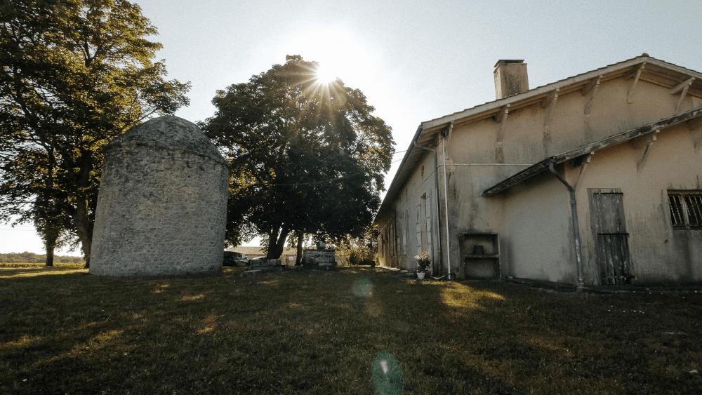 Die Gutsgebäude
