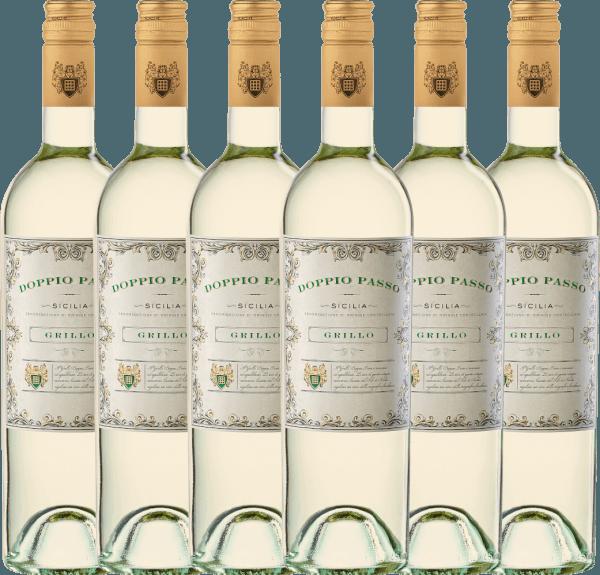 6er Vorteils-Weinpaket - Doppio Passo Grillo Sicilia DOC 2020 - CVCB