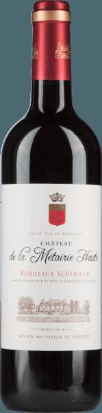 Bordeaux Supérieur Rouge AOC 2016 - Château de la Métairie Haute