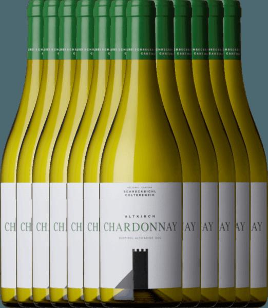 12er Vorteilspaket - Chardonnay Altkirch 2020 - Kellerei Schreckbichl