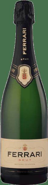 Dieser Schaumwein symbolisiert die Geschichte der Kellerei Ferrari und wird seit 1902 in der Region Trentino vinifiziert. Der Ferrari Brut von Ferrari präsentiert sich von einer strohgelben Farbe mit grünlichen Schattierungen im Glas. Das Boquet dieses Spumante ist intensiv und verströmt Aromen von Hefe, Feldblumen und Golden Delicious Äpfeln. Geschmacklich überzeugt er durch Harmonie, Geschmeidigkeit, Klarheit und Noten von frischem Brot und reifen Früchten. Daten des Ferrari Brut von Ferrari Weingut: FerrariLand: ItalienAnbauregion: TrentinoRebsorten: 100% ChardonnayInhalt: 1,5 lLagerfähigkeit: bis 2013Alkoholgehalt: 12,50 Vol.%Optimale Serviertemperatur: 8°C Auszeichnungen des Ferrari Brut - Magnum in GP von Ferrari Gambero Rosso: 2 Gläser (Jahrgang 2010 u. 2011)Wine Advocate: 88 Parker PunkteDuemilavini: 4 Trauben Wine Enthusiast: 90 PunkteWeinwirtschaft 2011: Sieger in der Kategorie Schaum- und Perlweine des Jahres 2010Winereview-online: 90 Punkte