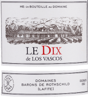 Vorschau: Le Dix de Los Vascos 2016 - Viña Los Vascos