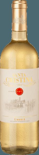 Der Bianco Umbria IGT von Santa Cristina ist eine herrliche Cuvée aus Umbrien mit strohgelber Farbe. Dieser Weißwein erfreut mit intensiv fruchtigem Duft, mit Noten von Bananen und tropischen Früchten, die typisch sind für die Rebsorten Grechetto und Procanico, aber auch Aromen von kandierten Früchten, sortenypisch für den Viognier. Am Gaumen zeigt sich dieser italienische Weißwein aus Umbrien verspielt, weich und mit schöner Frische. Der Abgang ist zart aromatisch und duftig frisch. Vinifikation des Santa Cristina Bianco Umbria IGT Die Trauben Procaninco, Grechetto und Viognier werden getrennt vinifiziert, abhängig von der unterschiedlichen Reifezeit der Rebsorten. Nach der sanften Entrappung und Pressung, wird der Most auf 10°C gekühlt und natürlich dekantiert, bevor er in Edeltahltanks bei niedrigen Temperaturen vergoren und anschließend in kleinen Mengen abgefüllt wird. Speiseempfehlung zum Bianco Umbria IGT von Santa Cristina Genißen Sie diese umbrische weiße Cuvée zu Fischgerichten und Meeresfrüchten, Pasta und Reis sowie helles Fleisch und junge Käsesorten. Ein schöner Wein auch für Bankette oder zum Picknick.
