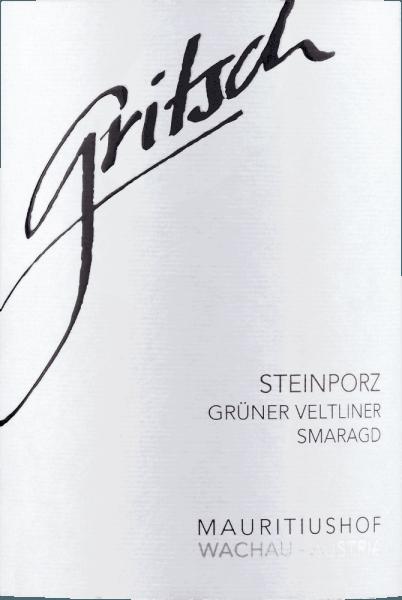 Steinporz Grüner Veltliner Smaragd 2016 - Gritsch von Gritsch - Mauritiushof