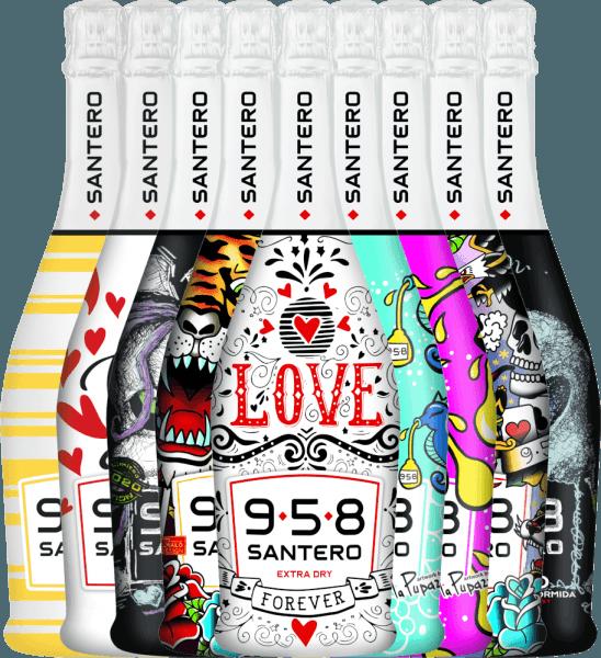 9er Editions-Paket - 958 Spumante Extra Dry - Santero