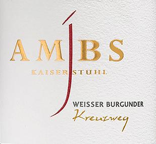 Kreuzweg Weißer Burgunder trocken 2017 - Josef Ambs von Weingut Josef Ambs