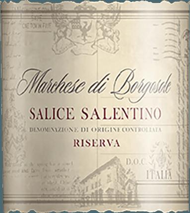 Marchese di Borgosole Salice Salentino DOC 2017 - Carlo Botter von Casa Vinicola Carlo Botter