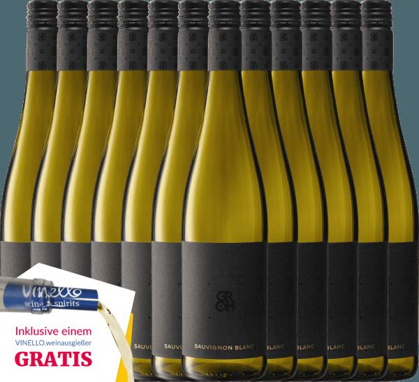 12er Vorteils-Weinpaket - Sauvignon Blanc 2019 - Groh von Weingut Groh