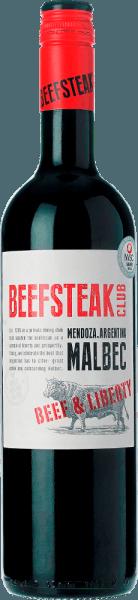 DerBeef & Liberty Malbec von Beefsteak Club schimmert in einem tiefdunklen Rot. Das Bouquet offenbart intensive Aromen nach reifen Zwetschgen und dezente Anklänge an Schokolade. Am Gaumen zeigt sich ein würziger, saftiger und vielschichtiger Charakter - untermalt von feinen Barriquenoten. Die feinen Tannine sind gut in den Körper des argentinischen Rotweins eingebunden. Vinifikation desBeef & Liberty Malbec Dieser Rotwein wird nach der Gärung für insgesamt 6 Monate im Barrique ausgebaut. Dadurch erhält dieser Malbec seine dezenten Holznoten. Speiseempfehlung für den Beefsteak Club Malbec Genießen Sie diesen trockenen Rotwein zu Grillabenden mit der Familie und den Freunden oder auch zu verschiedenen Gemüse-Sticks mit Dips. Auszeichnungen für den Malbec Beef & Liberty Berliner Winetrophy: Gold für 2017 Drinks Business Global Masters: Bronze für 2016 International Wine & Spirits Competition: Silber für 2016