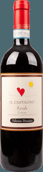 Castagno Cortona Syrah 2015 - Fabrizio Dionisio