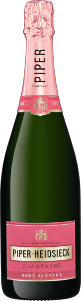 Champagner Rosé Sauvage Brut - Piper-Heidsieck