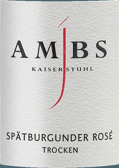Spätburgunder Rosé Kabinett trocken 2019 - Josef Ambs von Weingut Josef Ambs