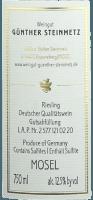 Vorschau: Brauneberger Riesling trocken 2020 - Günther Steinmetz