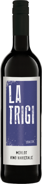Der Merlot von La Trigi offenbart sich im Glas in einem kräftigen Rubinrot, dabei entfaltet sich sein fruchtig-würziges Bouquet. Dieser Rotwein ist am Gaumen eine mediterrane Verlockung und begeistert im Finale mit seinen würzigen und fruchtigen Anklängen. Speiseempfehlung für den La Trigi Merlot Genießen Sie diesen trockenen Rotwein zu Pasta, gegrilltem Fleisch und Hartkäse.