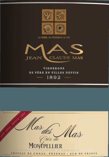 Mas des Mas Grés de Montpellier AOC 2017 - Les Domaines Paul Mas von Domaine Paul Mas