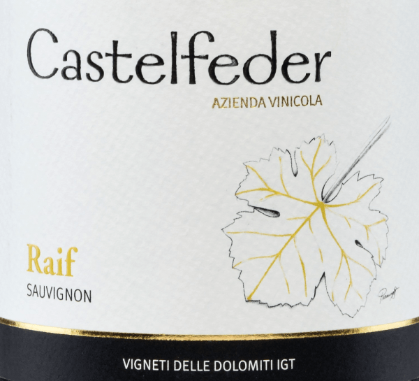 Raif Sauvignon Vigneti Dolomiti 2019 - Castelfeder von Castelfeder