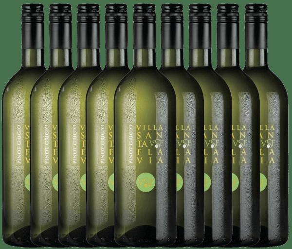 9er Paket - Pinot Grigio 1,0 l 2020 - Villa Santa Flavia
