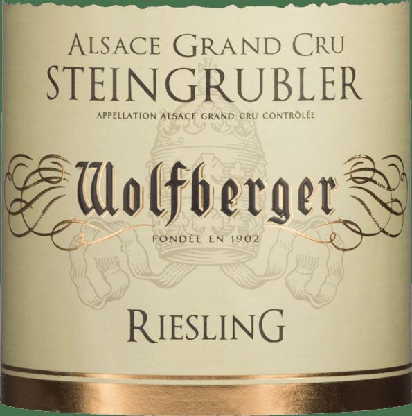 Steingrubler Riesling Grand Cru 2016 - Wolfberger von Wolfberger