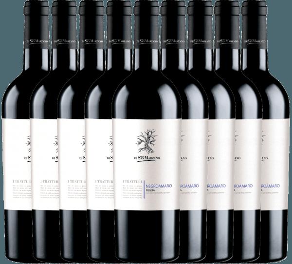 9er Vorteils-Weinpaket - I Tratturi Negroamaro 2019 - Cantine San Marzano