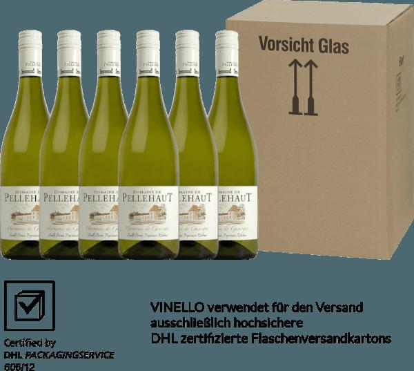 6er Vorteils-Weinpaket - Harmonie de Gascogne Blanc 2019 - Domaine de Pellehaut von Domaine de Pellehaut