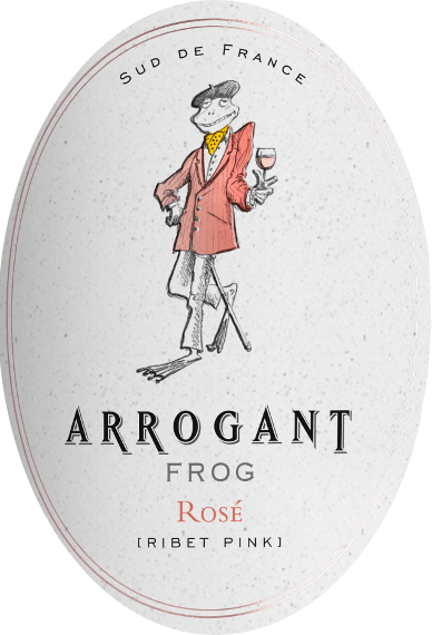 Ribet Pink Syrah Rosé 2019 - Arrogant Frog von Arrogant Frog