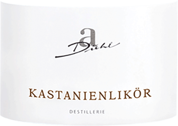 Kastanienlikör 0,5 l - A. Diehl von Weingut A. Diehl