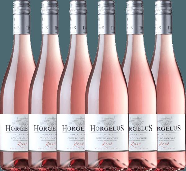 6er Vorteils-Weinpaket - Horgelus Rosé 2020 - Domaine Horgelus