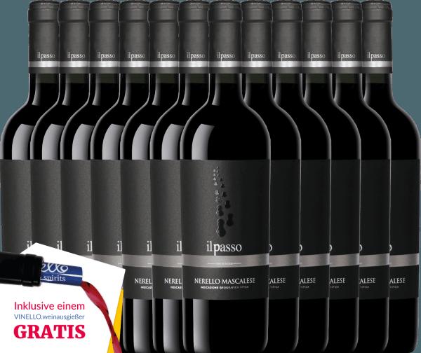 12er Vorteils-Weinpaket - Il Passo Nerello Mascalese 2018 - Vigneti Zabu von Vigneti Zabu