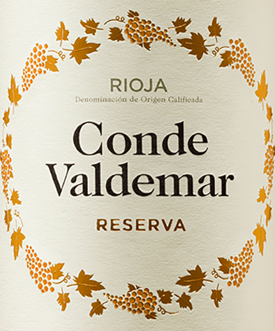 Conde Valdemar Reserva Rioja DOCa 2012 - Bodegas Valdemar von Bodegas Valdemar
