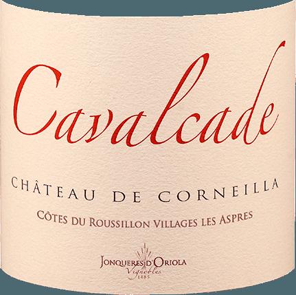 Cavalcade Rouge Côtes de Roussillon Les Aspres AOP 2016 - Château de Corneilla von Château de Corneilla