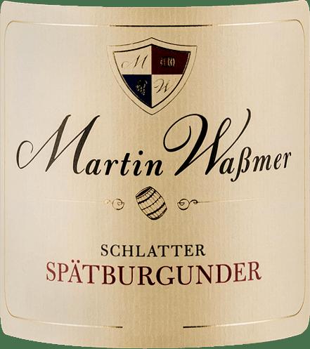 Schlatter Spätburgunder SW 2016 - Martin Waßmer von Martin Waßmer