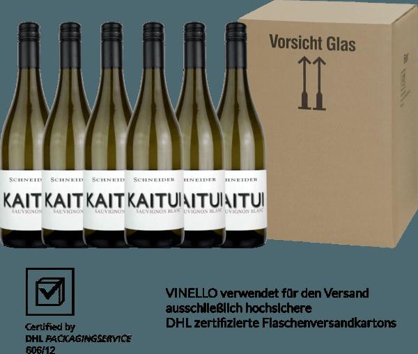 6er Vorteils-Weinpaket - Kaitui Sauvignon Blanc 2019 - Markus Schneider von Weingut Markus Schneider