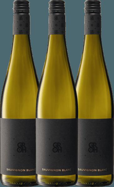 3er Vorteils-Weinpaket - Sauvignon Blanc 2019 - Groh von Weingut Groh