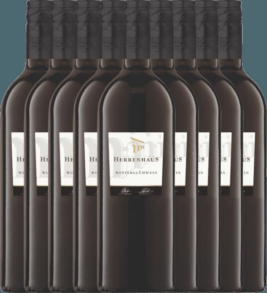 9-pack - Red Mulled Wine Herrenhaus Feuerzauber 1,0 l - Lergenmüller
