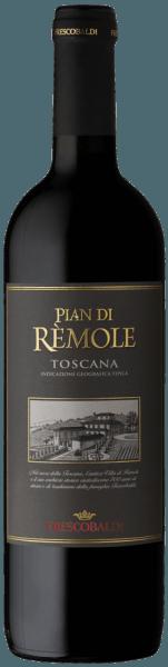Der Pian di Rèmole Rosso von Frescobaldi wird im historischen Weingut Villa Rèmole erzeugt. Dieser toskanische Rotwein zeigt sich im Glas in einem glänzenden Purpurrot. An der Nase eröffnet sich ein sehr fruchtiges Bukett mit Noten von Heidelbeer- und Sauerkirschkonfitüre, gefolgt von würzigem schwarzem Pfeffer und Anklängen von balsamischem Salbei und Eukalyptus. Im Geschmack präsentiert sich der Pian di Rèmole Rosso von schöner Frische, angenehm weich und ausgewogen, von guter Trinkbarkeit, der kurze Ausbau im Holz verleiht im Struktur und Harmonie. Langer Abgang mit schönem, runden Nachhall. Herstellung des Pian di Rèmole Rosso von Frescobaldi Dieser gefällige Rotwein aus der nördlichen Toskana wird überwiegend aus Sangiovese und einem kleinen Anteil Cabernet-Sauvignon hergestellt. Nach einer Maischegärung von 9 Tagen folgt unmittelbar die malolaktische Gärung. Der Wein wird dann in 5 Monaten in Edelstahl ausgebaut, kurz in Holzfässer gefüllt, was die Struktur und Harmonie begünstigt, danach in Flaschen abgefüllt und noch weiter 2 Monate gelagert bevor er in den Handel gegeben wird. Empfehlungen für den Pian di Rèmole Rosso von Frescobaldi Ein vielseitiger Wein, perfekter Begleiter für verschiedene Anlässe, vom schnellen Mittagessen bis zum Aperitif. Passt sehr gut zu Nudeln in verschiedensten Variationen, ideal auch zu Wurst, Hauptgängen und Geflügel.